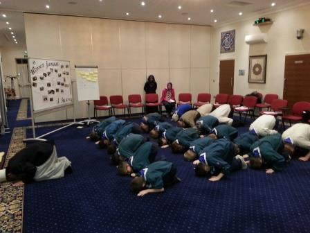 Scouts At Mosque1